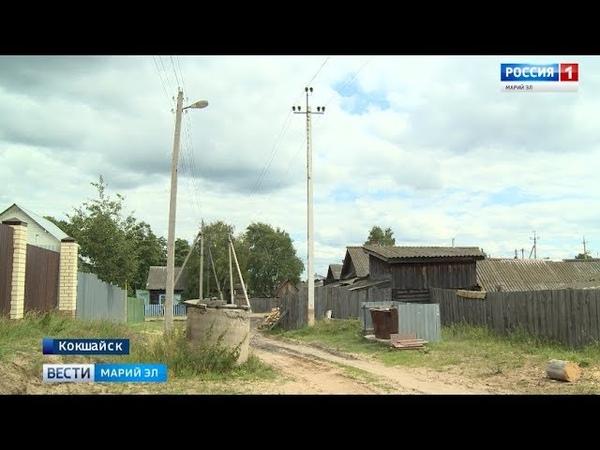 В Кокшайске обустроили контейнерные площадки для сбора ТКО