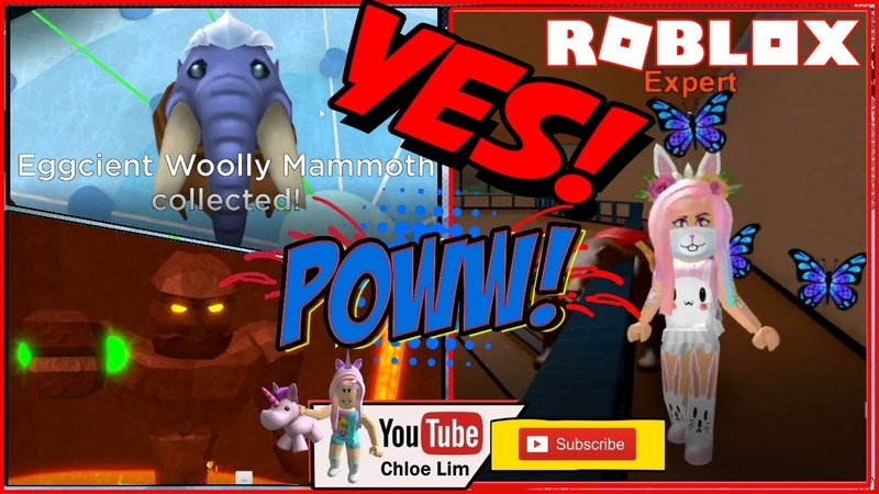 🥚 Epic Minigames Getting Eggcient Woolly Mammoth Egg from the Egg Hunt Event LOUD WARNING