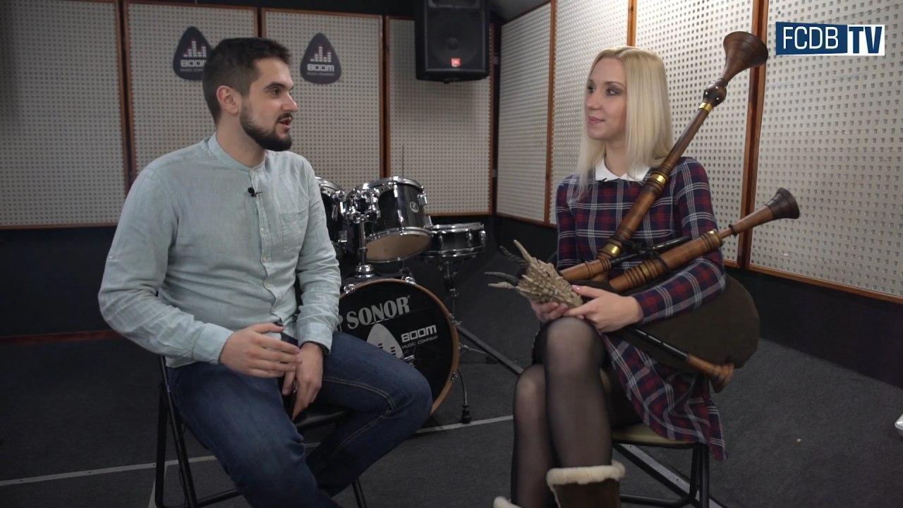 Звуки волынки - одна из главных мелодий чемпионов Беларуси