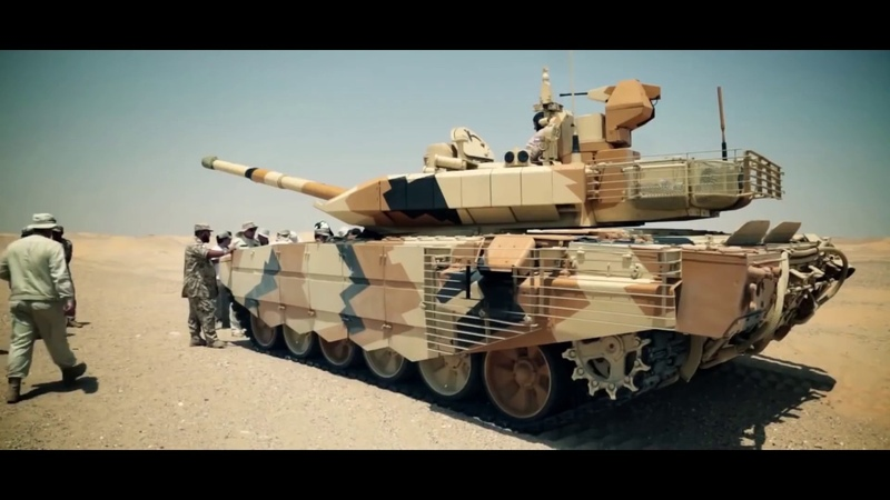 T 90SM in the Desert of Kuwait BADASS