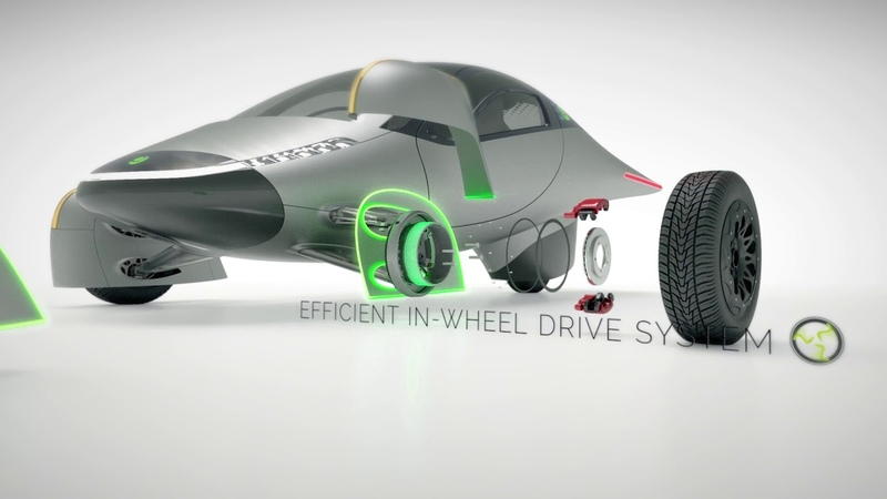 Aptera and Elaphe Propulsion's In-Wheel Motor Technology