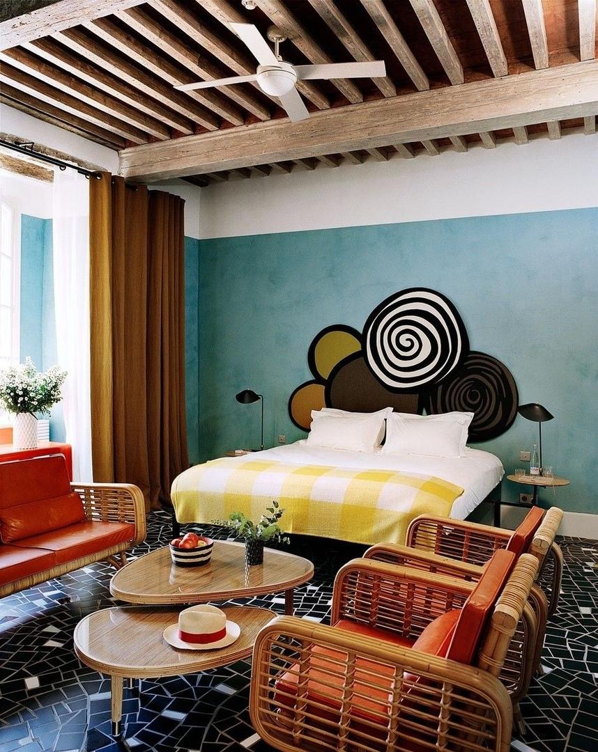 Отель Le Cloître в Провансе: проект Индии Мадави