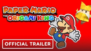 Paper Mario: The Origami King - Official Gameplay Trailer | Summer of Gaming