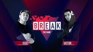 B-Boy Issei vs. B-Boy Victor | BREAK THE GAME