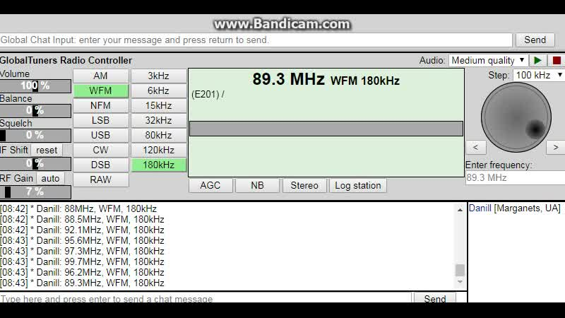 Sporadic E SR P1 from Goteborg received in Marganets on 89 3 MHz during the Le Mans 24 hour race