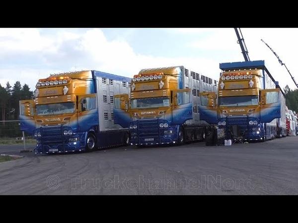 Nordic Trophy 2019 - Trailer Trucking Festival (Mantorp Park) - Walkthrough Open Pipe Sounds