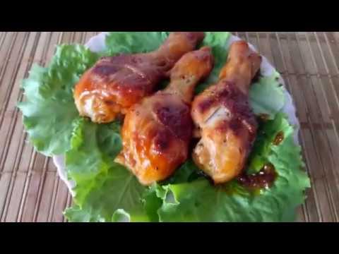 Куриная ножка в медово-соевом соусе - необыкновенный вкус