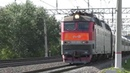 Электровоз ЧС7 275 ТЧЭ 1 со скорым поездом № 132У Москва Орск