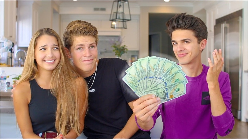 Paying Sister and her Boyfriend to Tell their DEEP Secrets! | Brent Rivera
