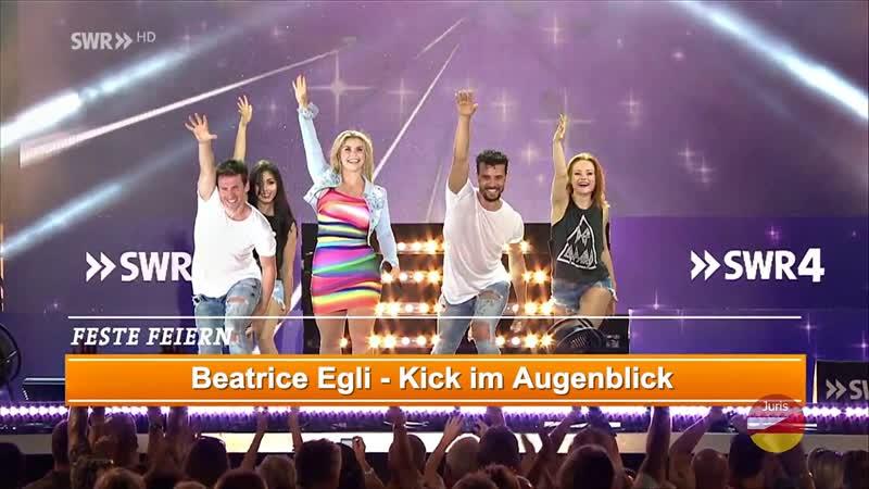 Beatrice Egli Kick im Augenblick SWR4 Schlager Open Air 07 08 2016