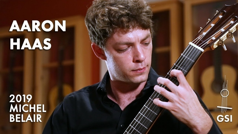 Federico Mompous Prelude from Suite Compostelana played by Aaron Haas on a Michel Belair