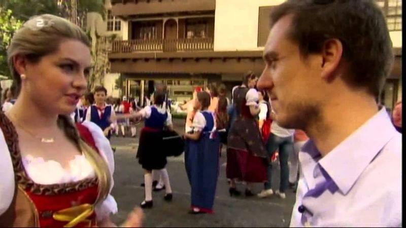 Blumenau in Brasilien im Deutschen Fernsehen