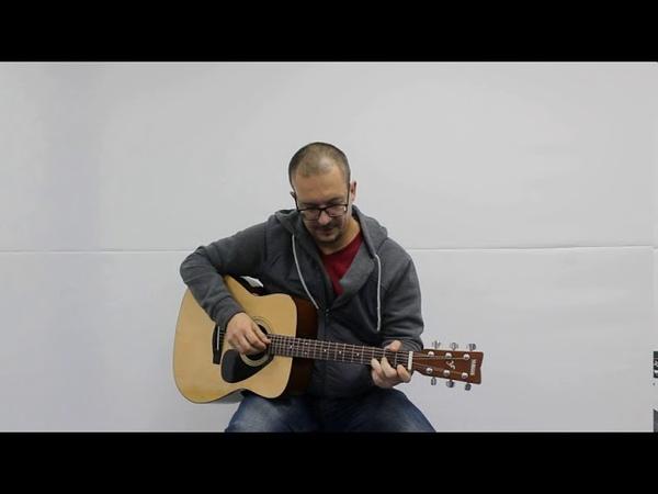 Мастер класс Максима Латушкина руководителя Клуба любителей гитары Ветер перемен