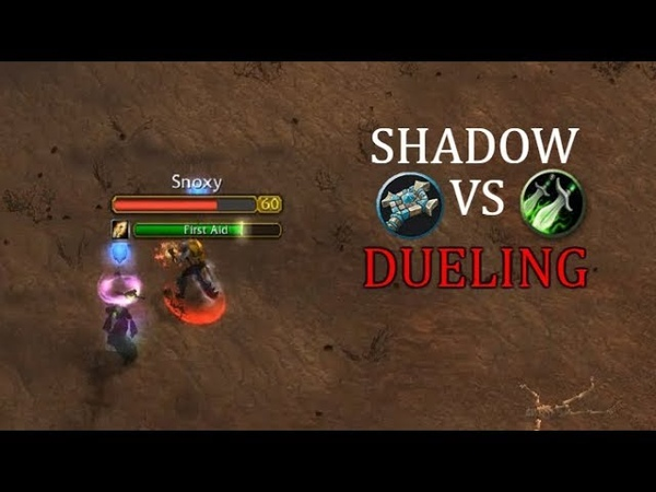Who Wins? Shadow Priest VS Rogue Dueling | PvP Classic WoW