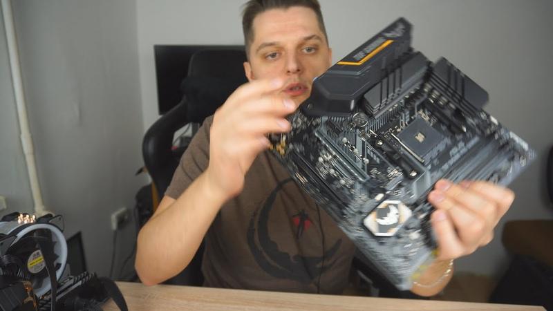 Шикарная материнка для AMD Ryzen за 7600 рублей. Тест с разгоном против Xeon 2640v3