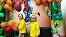 Подготовка ко дню рождения закупка хлопушки, шарики, цветы с нами Шимер и Шайн Ponabi kids tv