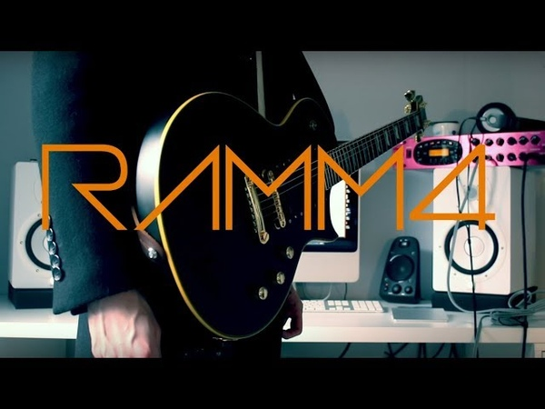 Rammstein Ramm4 Guitar cover by Robert Uludag Commander Fordo