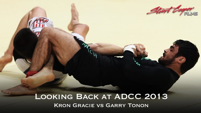Kron Gracie vs Garry Tonon Looking Back at ADCC 2013 Classic Match