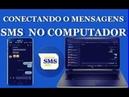 CONECTANDO O MENSAGENS NO COMPUTADOR