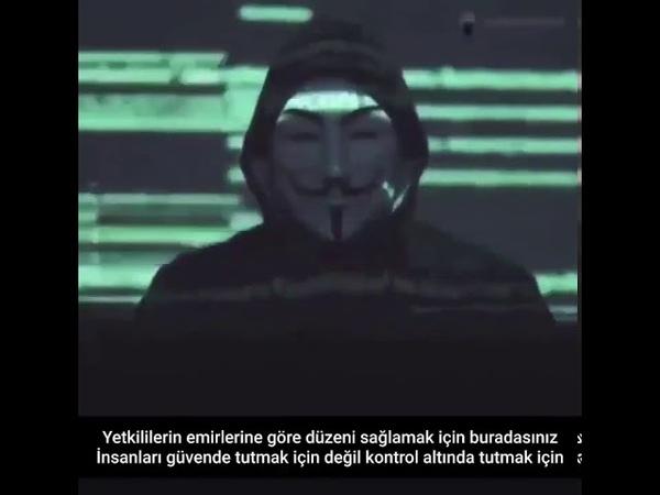 Anonymous hacktivist grup Anonymous polis teşkilatı telsiz internet sitelerini hackledi