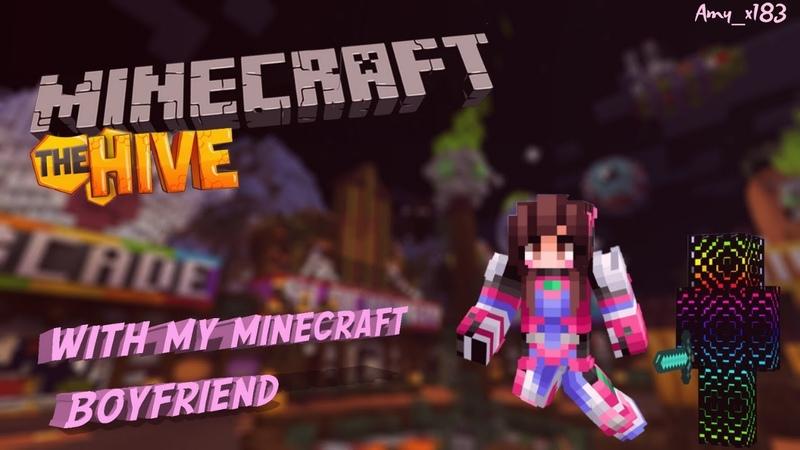 HiveMC with my minecraft boyfriend