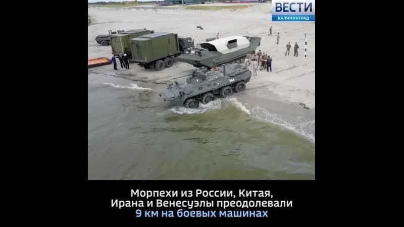 Морпехи России стали победителями всеармейских игр «Морской десант-2019»
