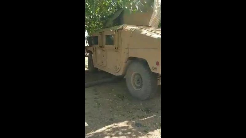 Suriye Milli Ordusu Rasulayn'da ABD üretimi ikinci zırhlı aracını da ele geçirdi THE ANATOLIA POST