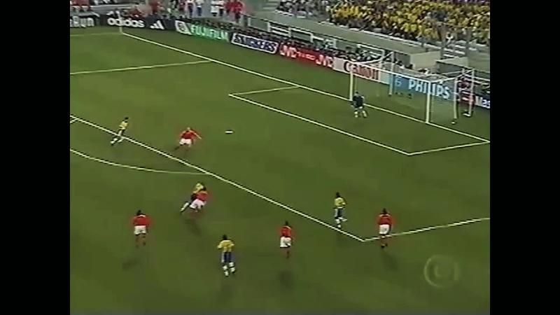 Brasil 1 x 1 Holanda (Pênaltis (4) x (2) - (Copa do Mundo de 1998) (Semifinal)