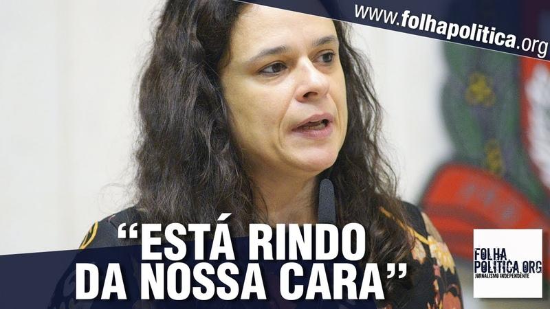 Janaína Paschoal perde a paciência com sabotagem 'descarada' e parte para o confronto