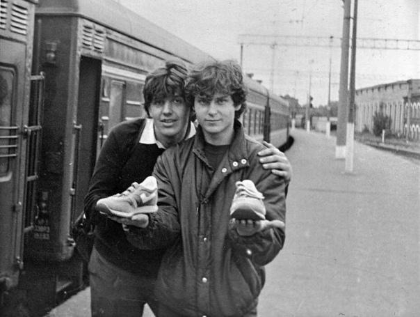 Кроссы на липах, 1985 год, Ленинград