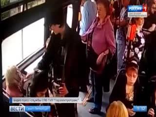 Полиция ищет неадекватного пассажира, который ударил женщину-кондуктора