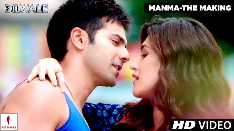 Making of Manma Emotion Jaage Kriti Sanon Varun Dhawan Dilwale A Rohit Shetty Film