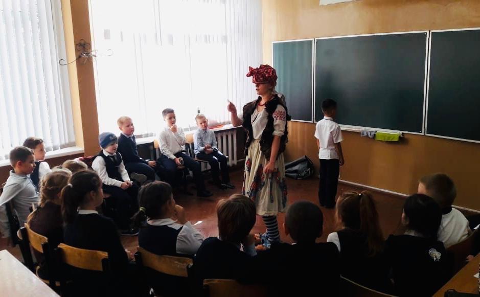 16 октября прошло развлекательное мероприятие Детской школы