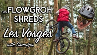 E Bikes are for Grandad's Flowgroh shreds his hometrails with Papy