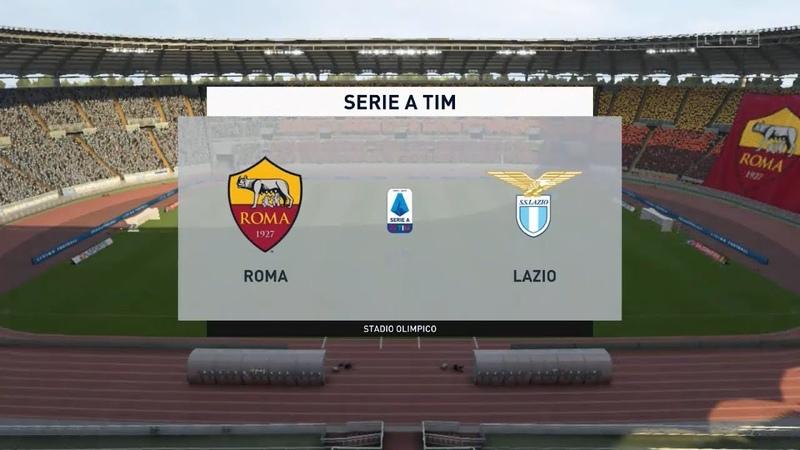 Рома - Лацио   Серия А   FIFA 20   26.01.2020