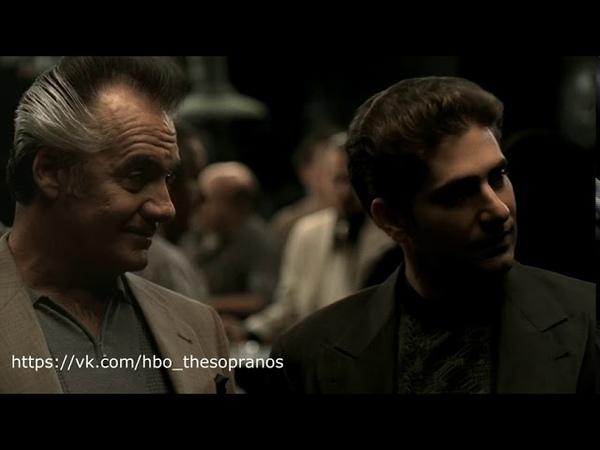 The Sopranos Клан Сопрано Разговор Поли и Криса