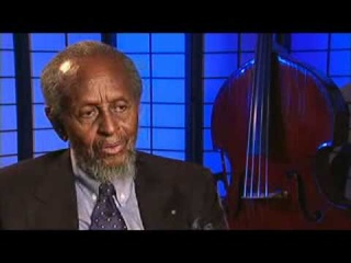 Master Class: Percy Heath Backstage Interview
