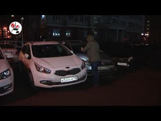 Epic fail водилы Инфинити на парковке