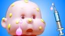 Дочки Матери видео с куклой Пупсик Игрушки для девочек Доктор и Развивающие мультфильмы для детей