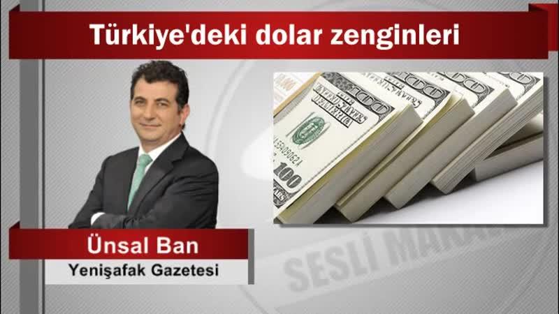 10 Ünsal Ban Türkiye'deki dolar