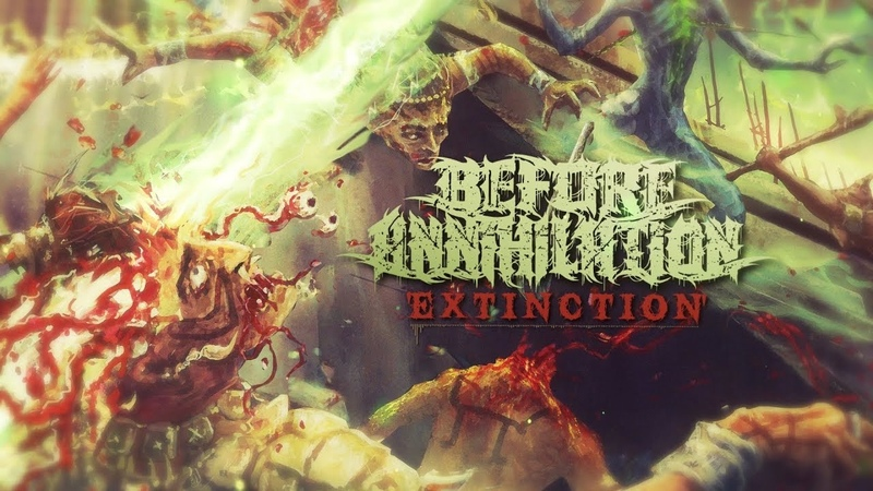 BEFORE ANNIHILATION - EXTINCTION [OFFICIAL LYRIC VIDEO] (2019) SW EXCLUSIVE