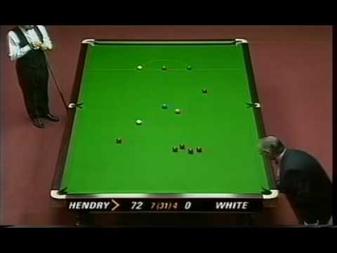 Stephen Hendry 147 World Championship 1995 Crucible Sheffield Closed Captions HQ