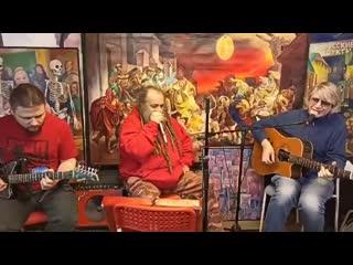 Кирилл Миллер, Александр Ветров, Алексей Зубков / прямой эфир из галереи Свиное Рыло.