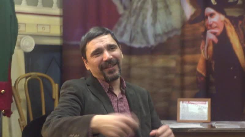 Артист театра и кино Константин Телегин