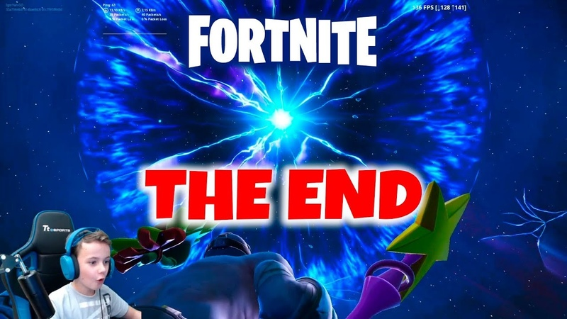 ПОЛНЫЙ ИВЕНТ - THE END SEASON 11 FINAL EVENT Fortnite