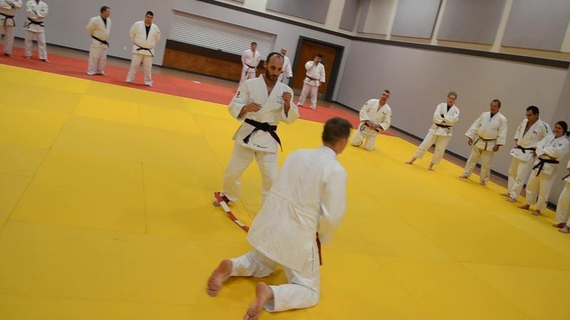 Frédéric Dambach De Ashi Barai Circulaire Garde Colloque août 2019 Judo Québec