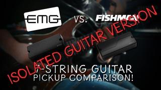 ISOLATED GUITARS   EMG 707 vs. Fishman Fluence Tosin Abasi Pickup Comparison - METAL