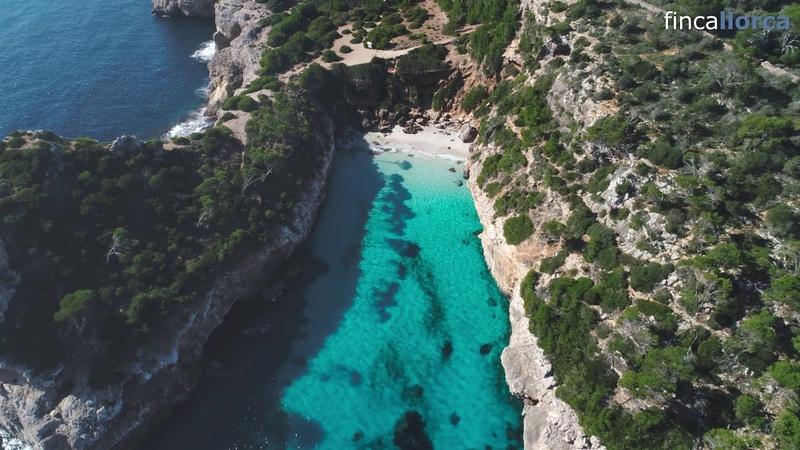 Strand Caló des Moro Mallorca