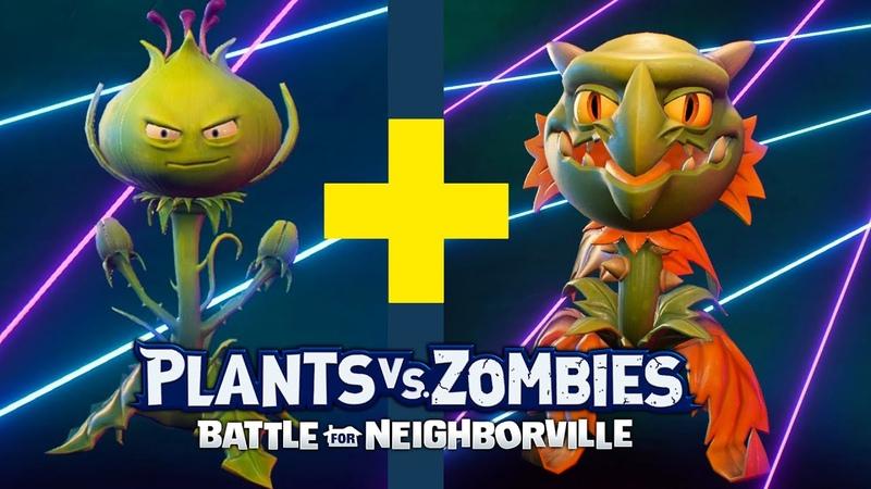 Weed Snapdragon = WeeDragon!   Plants vs Zombies Battle for Neighborville