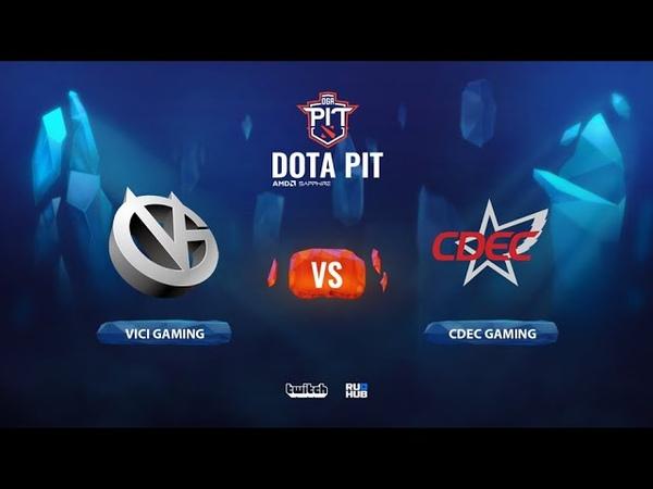 Vici Gaming vs CDEC Gaming OGA Dota PIT Season 2 China bo5 game 3 Smile Eiritel